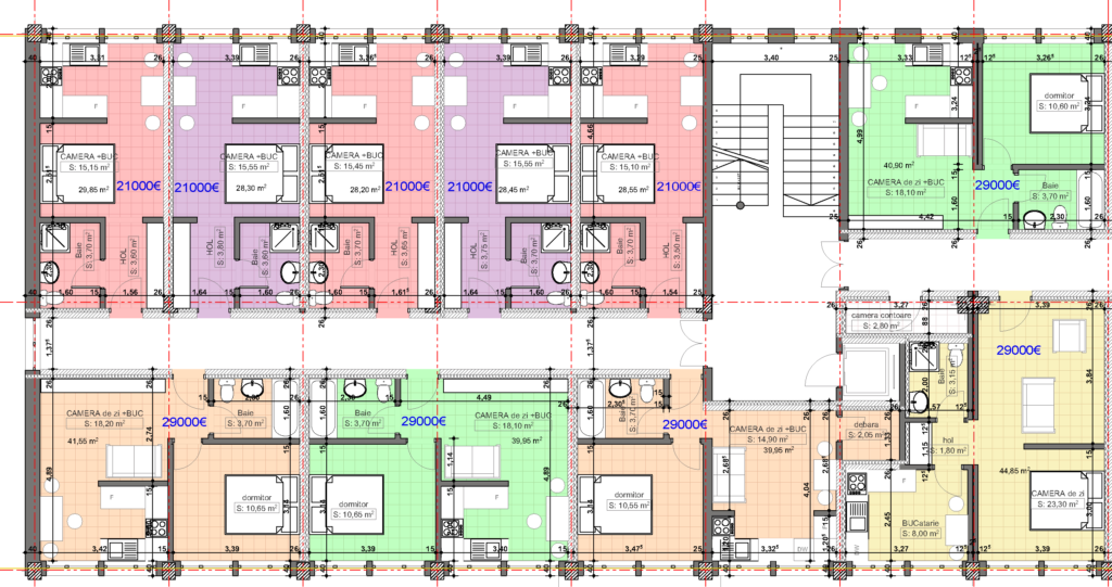 university-residence-plan-nivel-stanga